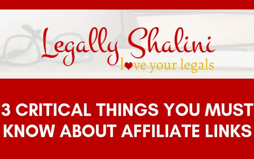 3 critical things you must know about affiliate link disclosures as an australian blogger