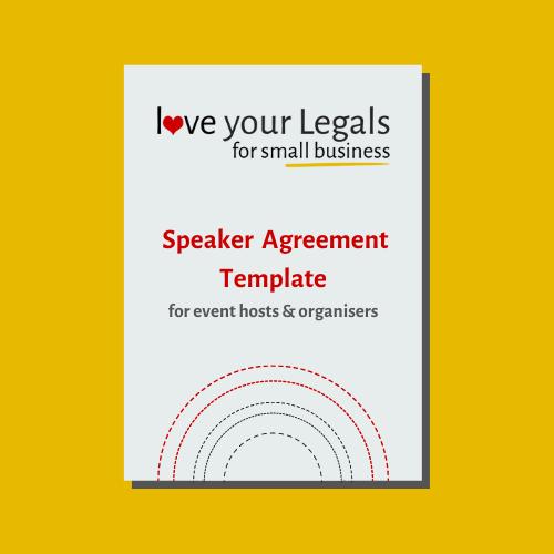 Speaker Agreement