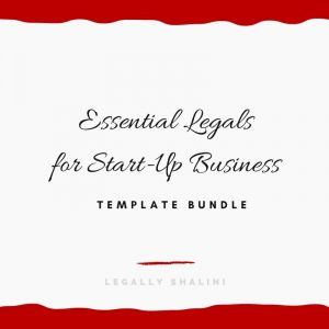 Essentials Template bundle by Legally Shalini