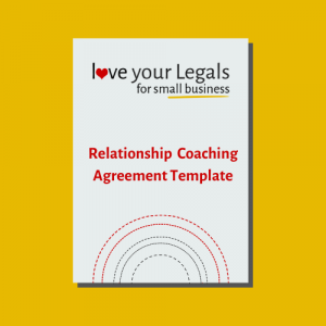 Relationship Coaching agreement