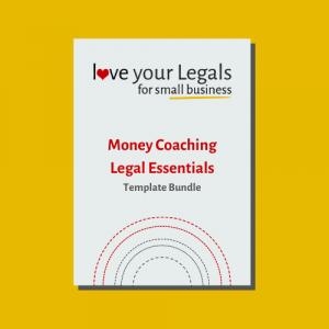 Money Coaching Legal Essentials