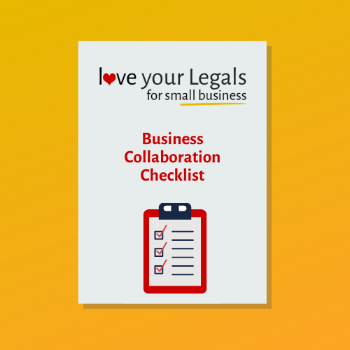 Business Collaboration Checklist